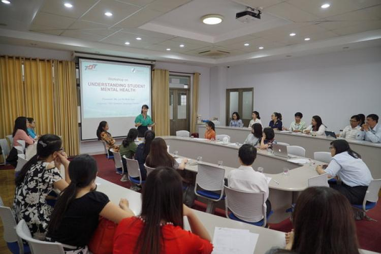 "Workshop on ""Understanding student mental health"""